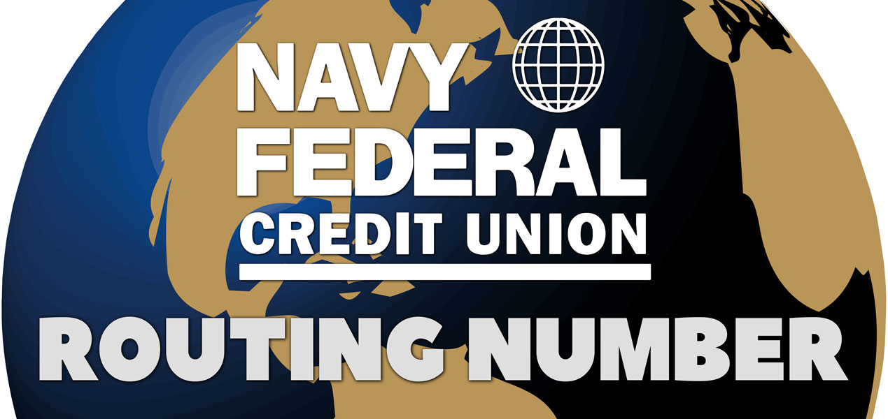 Navy Federal Credit Union Routing Number
